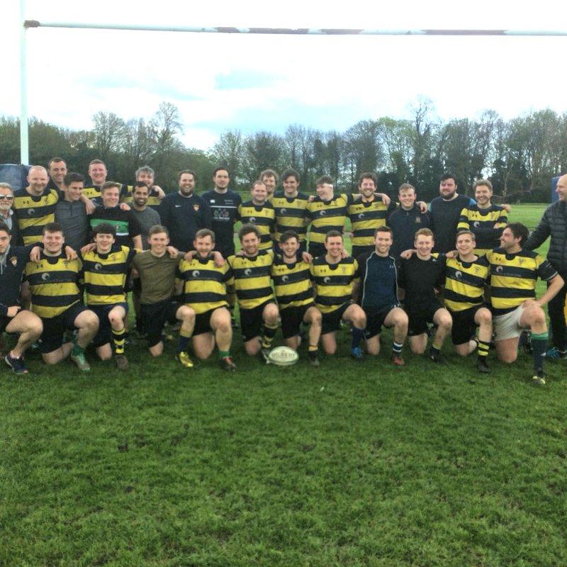 1st XV beat Birkenhead Park 3rd XV 17 - 26