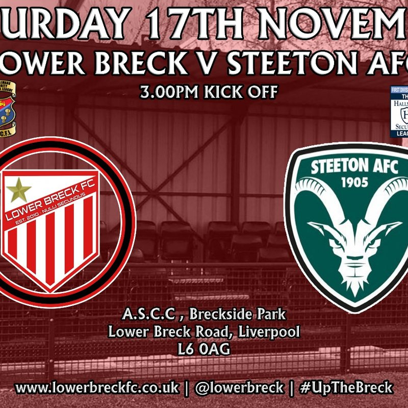 STEETON NEXT TO VISIT A.S.C.C.