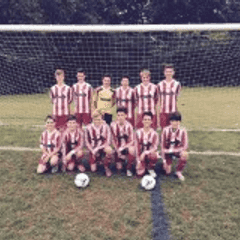 U14 White Proudly showing off their new kit courtesy of PROLIGHT DESIGNS