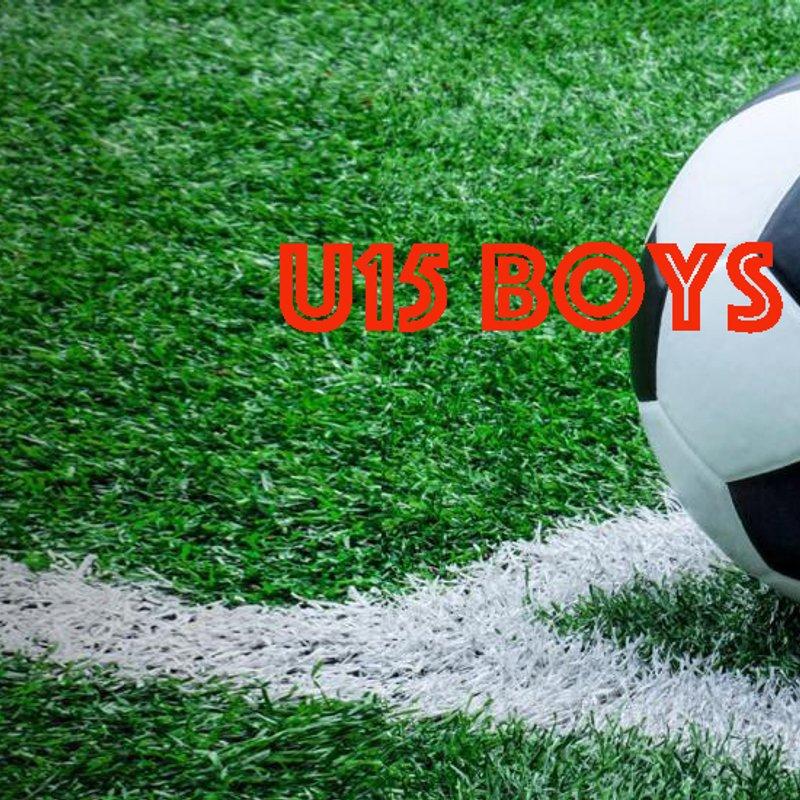 U15 (Boys) beat Cuffley Hawks u15 6 - 2