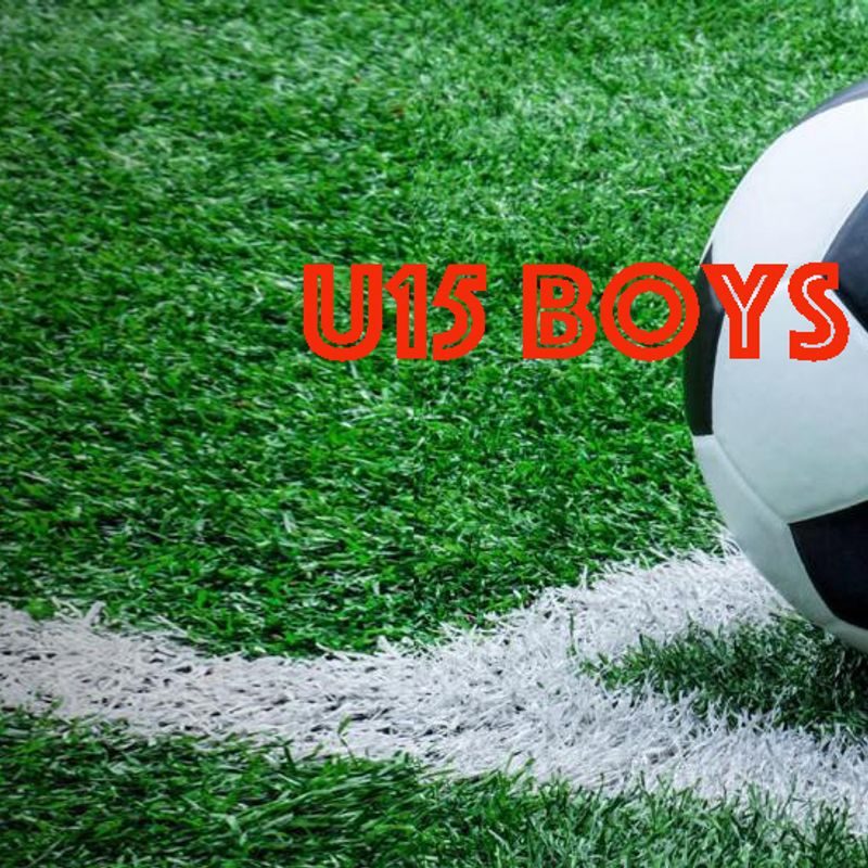 U15 (Boys) lose to Ware Youth u15 Blues 0 - 4