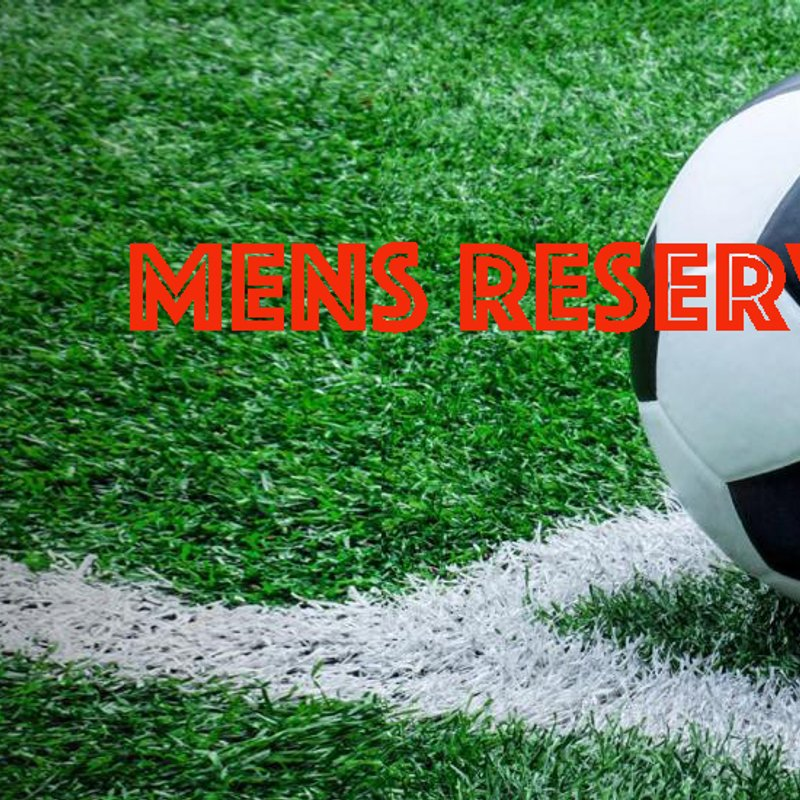 Mens Reserve Team lose to Bush Hill Rangers 4 - 1