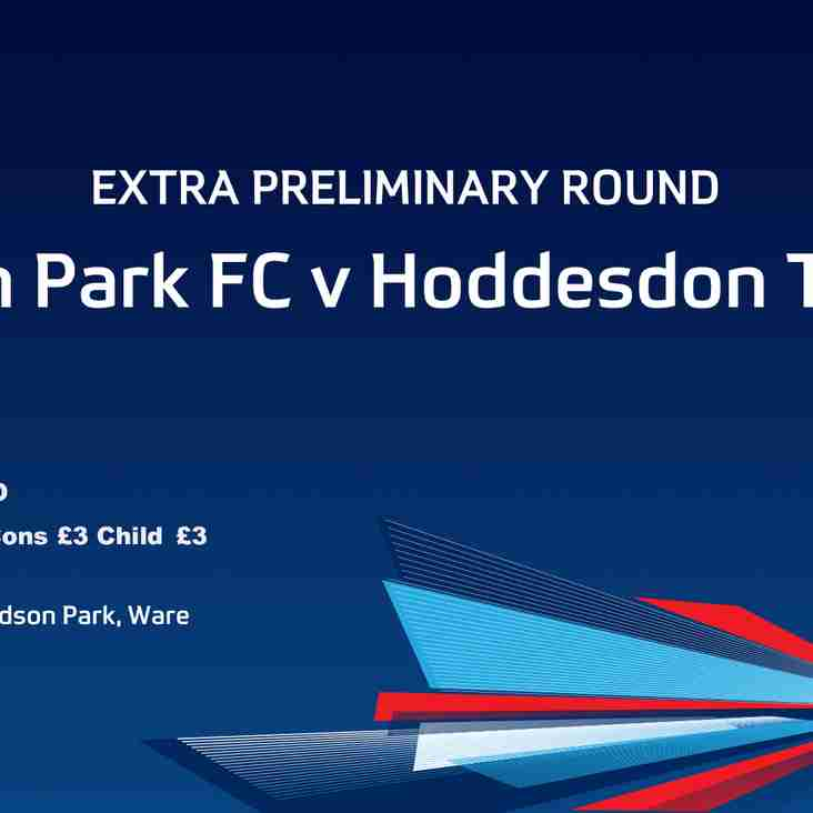 FA CUP Wodson Park Vs Hoddesdon Town