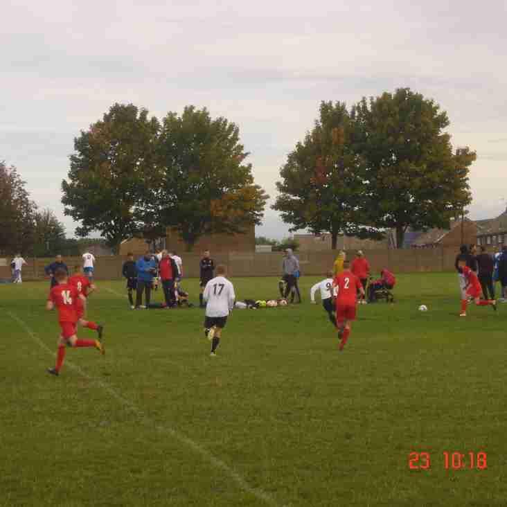 Maltby Main U18's  0-4  Parkgate FC U18's