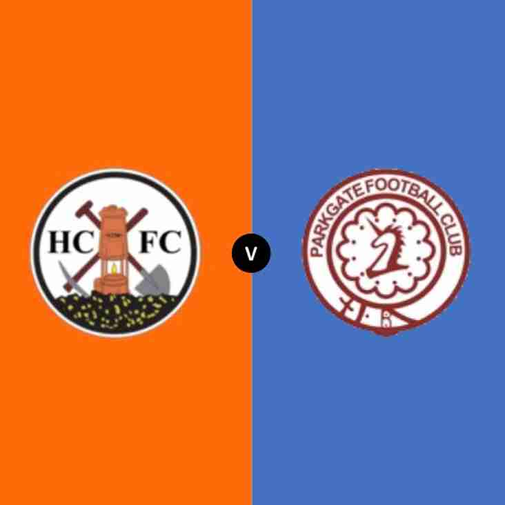 Parkgate vs Harworth Colliery, in huge league game! Sat 13th Oct