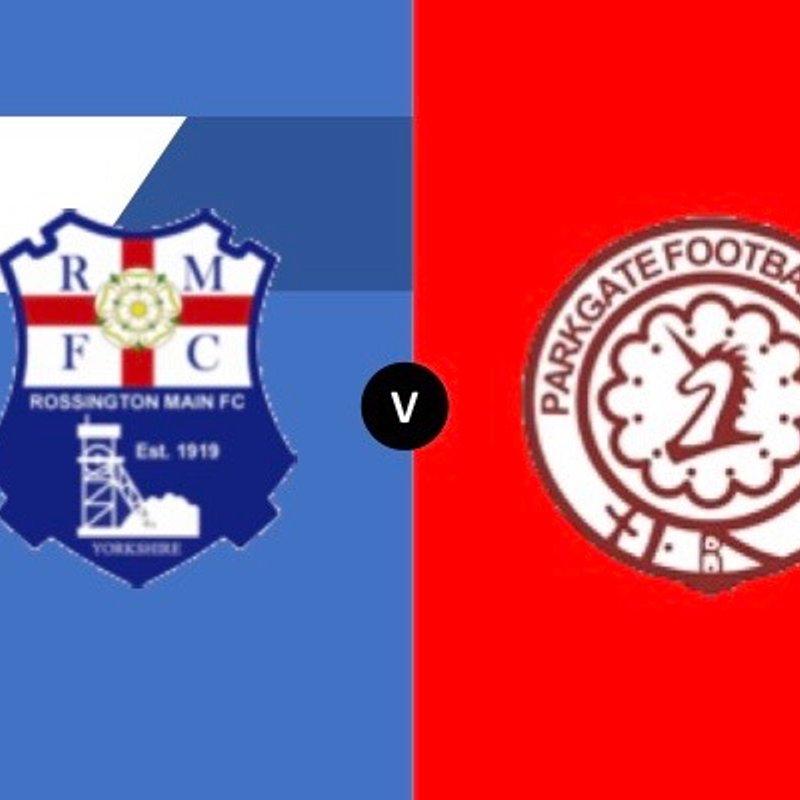 Rossington Main vs Parkgate FC - Sat 20 Oct