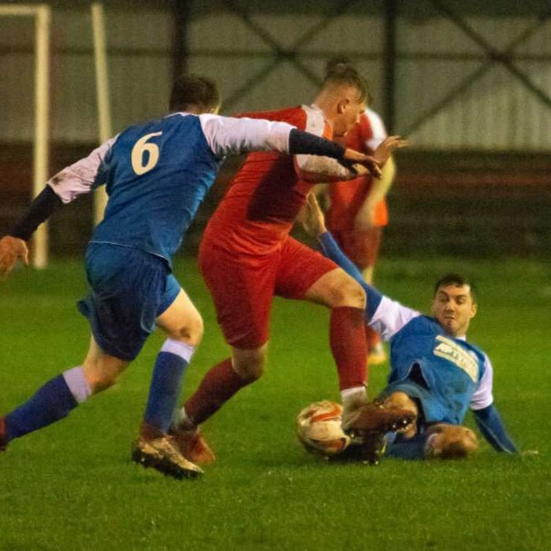 Match Report: Selby Town 0-3 Parkgate