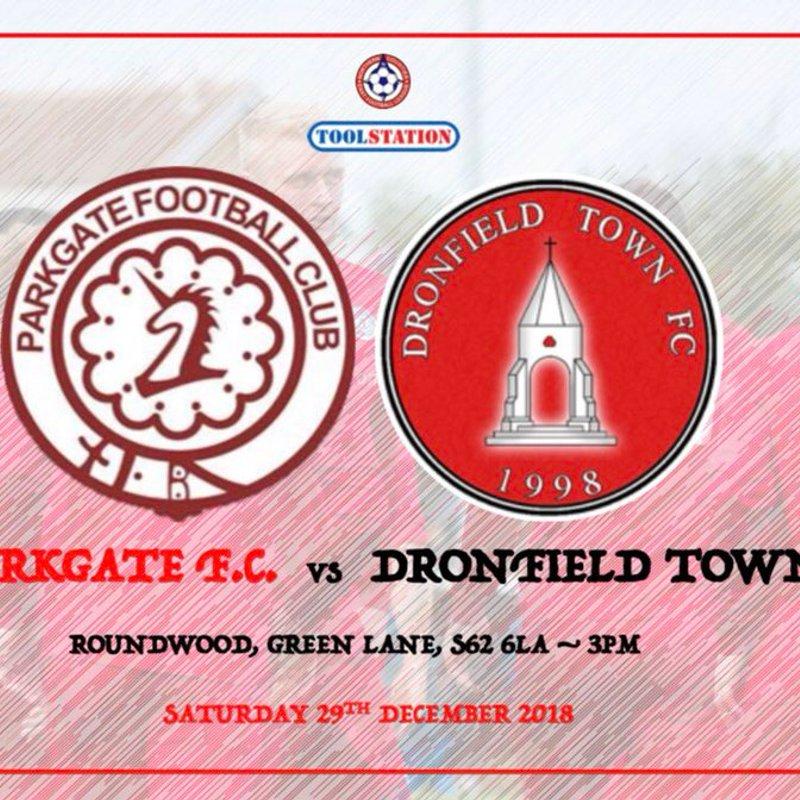 PREVIEW: Parkgate vs Dronfield Town