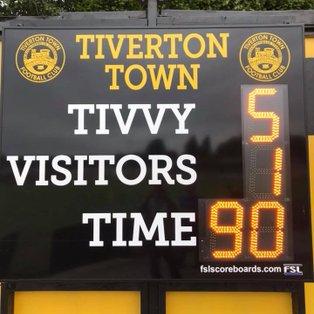 Tiverton Town 5-1 Walton Casuals