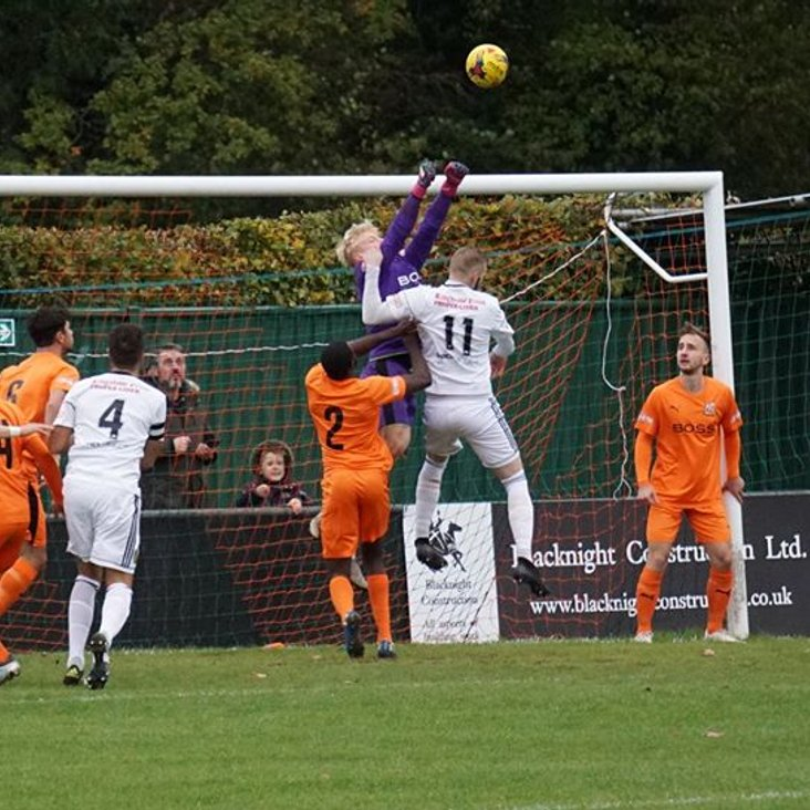 Hartley Wintney 1-1 Tiverton Town<