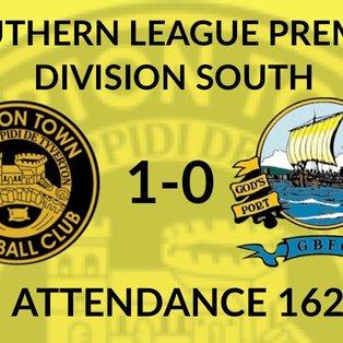 Tiverton Town 1-0 Gosport Borough