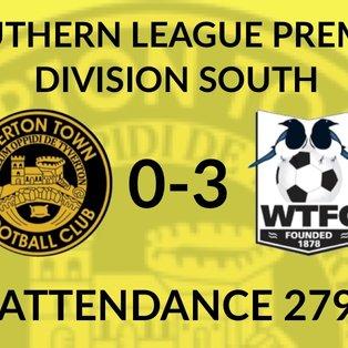 Tiverton Town 0-3 Wimborne Town