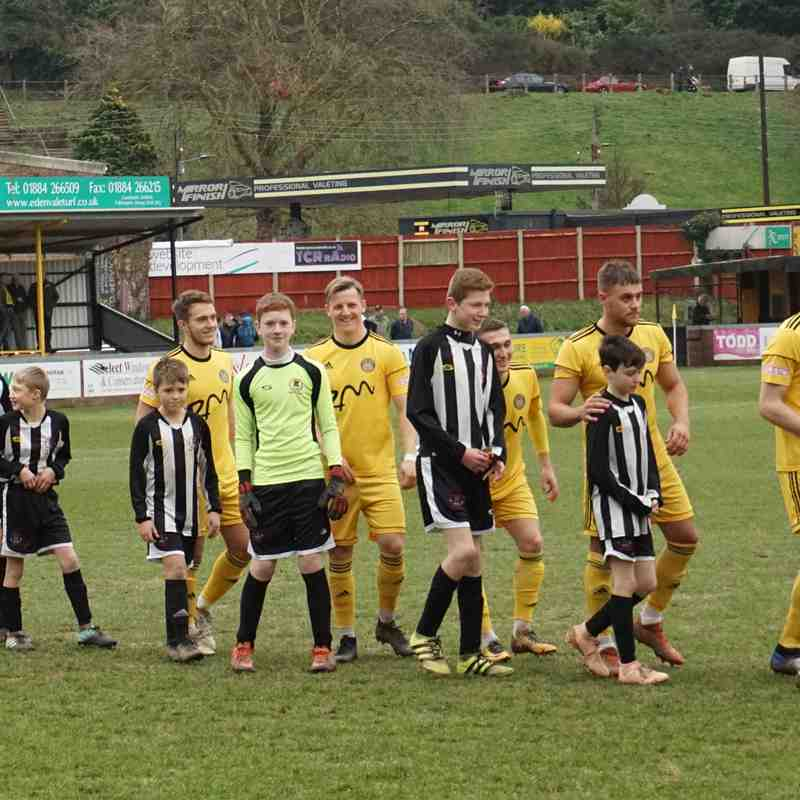 Wimborne Town FC - home - 0-3 Saturday 16th February 2019