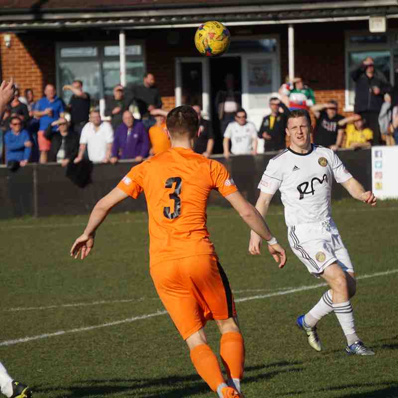 Hartley Wintney FC - Away - League - Saturday 23rd February 2019 1-0