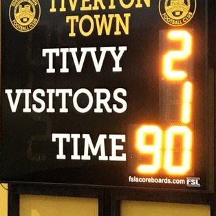Tiverton Town 2-1 Metropolitan Police