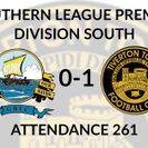 Gosport Borough 0-1 Tiverton Town