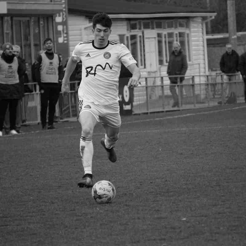 Gosport Borough FC - Away - 9th March 2019 - 0-1 Tivvy Goal by Levi Landricombe
