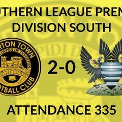 Tiverton Town 2-0 Salisbury