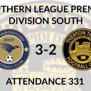 Farnborough 3-2 Tiverton Town