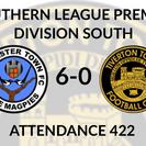 Dorchester Town 6-0 Tiverton Town