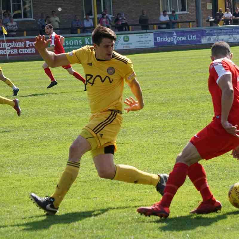 Harrow Borough - Away - Saturday 20th April 2019. 1-1 Tivvy goal from Callum Hall