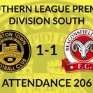 Tiverton Town 1-1 Beaconsfield Town