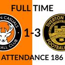 Walton Casuals 1-3 Tiverton Town