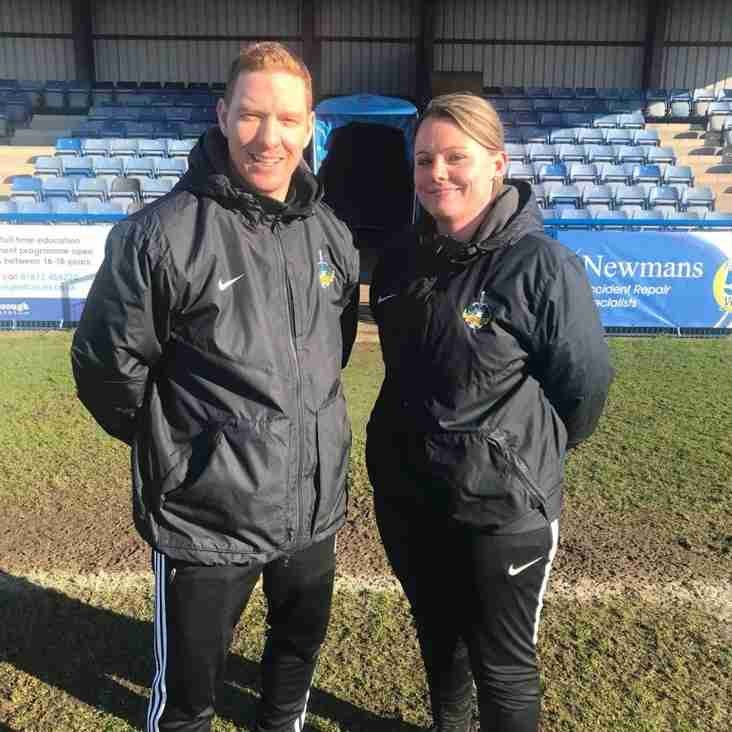 The club say farewell to current Ladies First Team manager Stuart Wilson