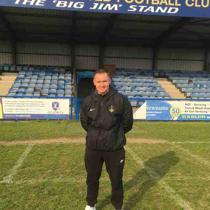 John Bennett announced as new Ladies First Team Manager