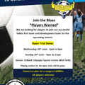 Long Eaton United FC Ladies section are recruiting new players for their first team and development team