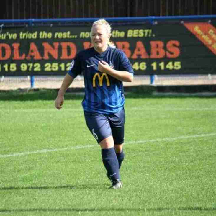 Long Eaton United FC Ladies first team retain 11 players  for the 2018-19 season