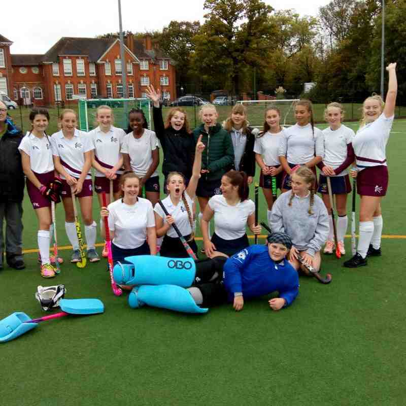 Kettering U16 Girls V U14 England Lions