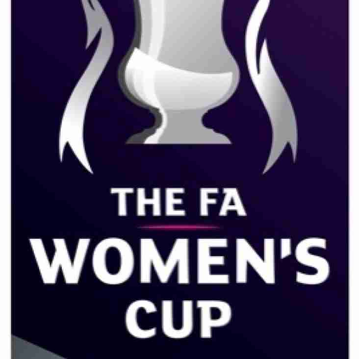 Ladies face Portsmouth if they progress on Sunday
