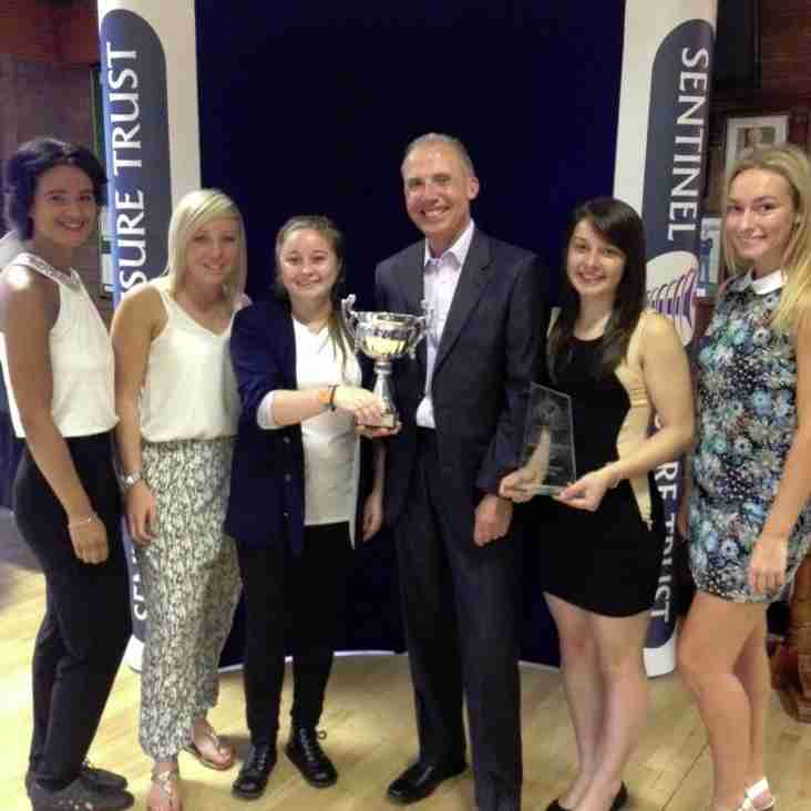 Ladies scoop Active Waveney Sports Awards 'Team of the Year'