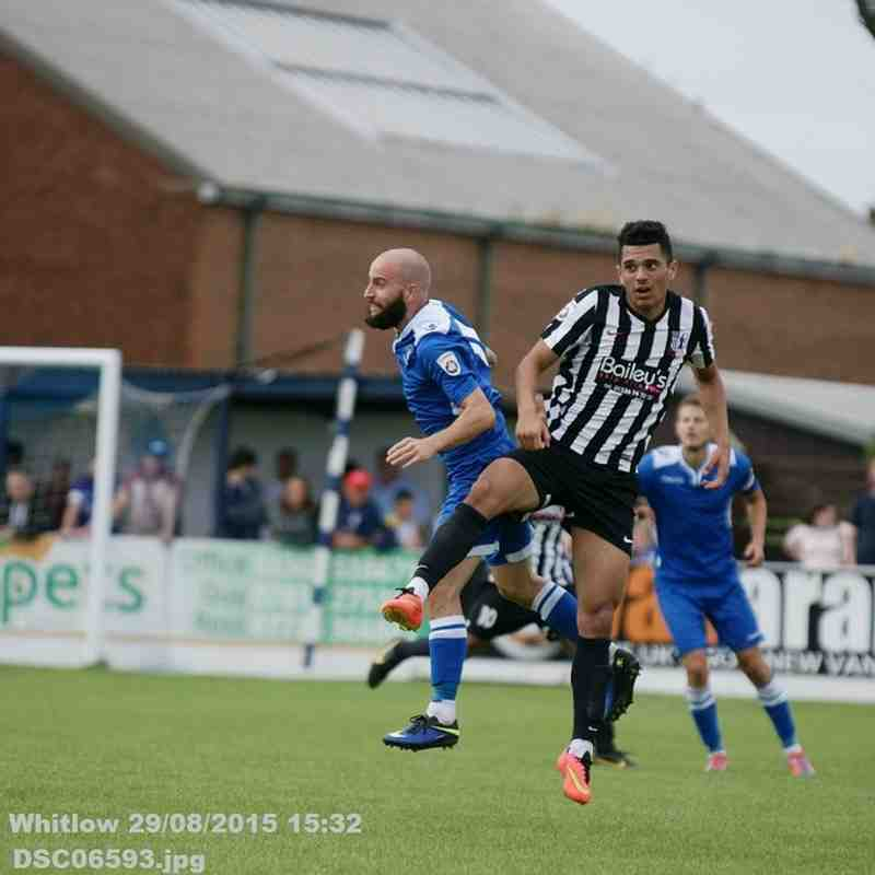 Lowestoft Town V Corby Town (Saturday 29th August 2015)