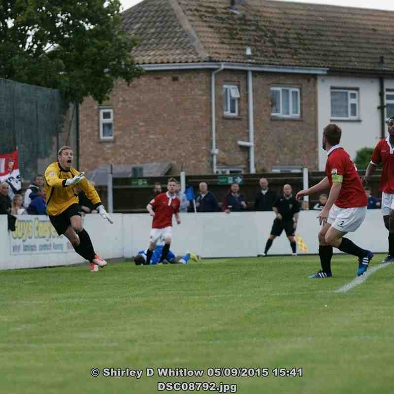 Lowestoft Town V FC United of Manchester (Saturday 5th September 2015)