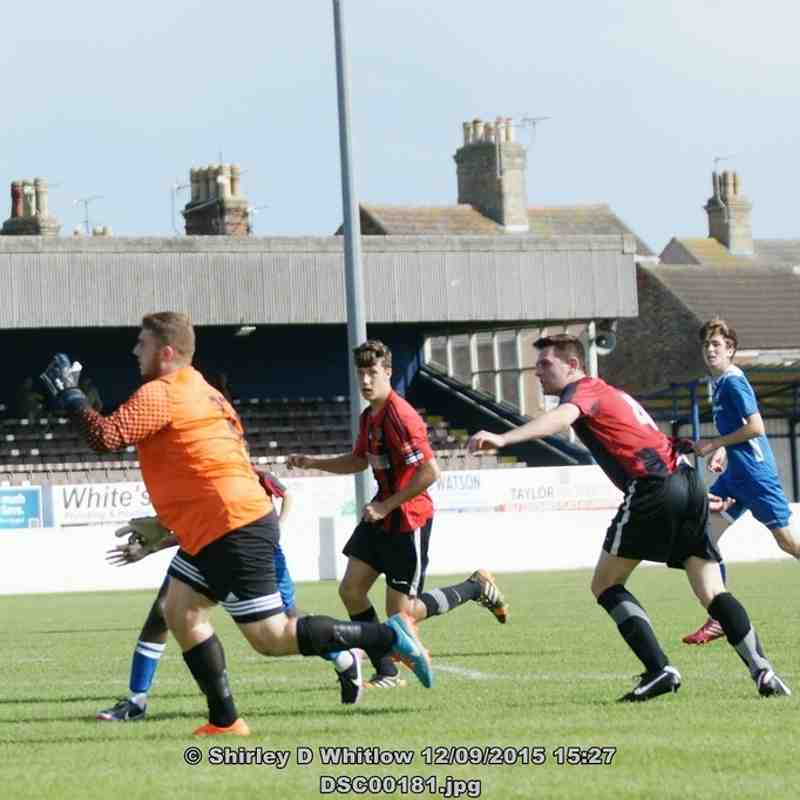 Lowestoft Reserves V Brightlingsea Regent (Saturday 12th September 2015)