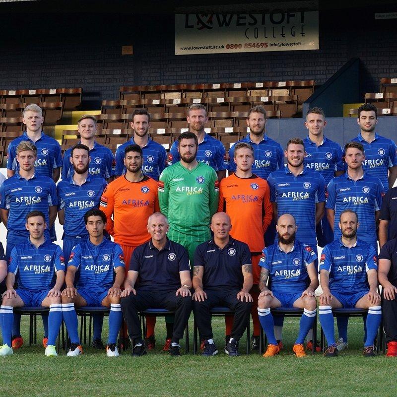 Lowestoft Town beat Harrow Borough 2 - 0