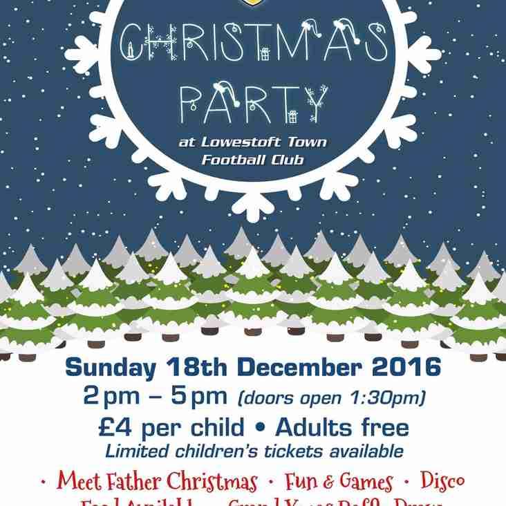 LTFC Christmas Party (Sunday 18th December)