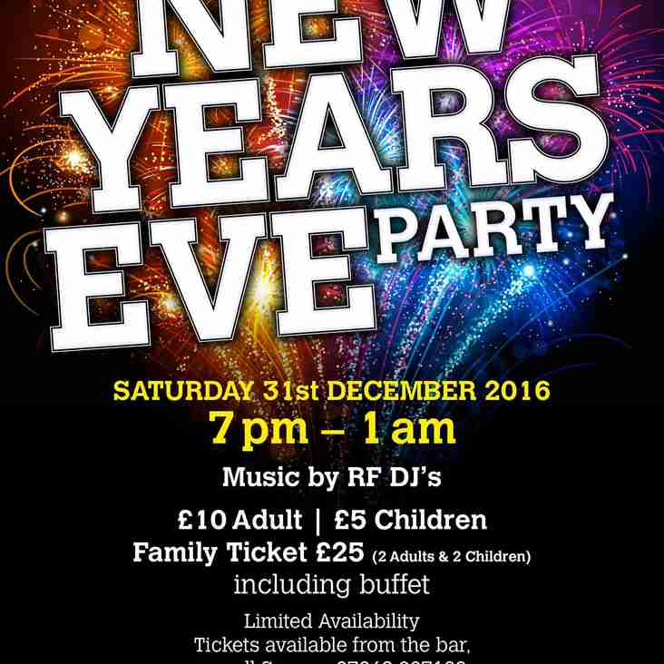 LTFC New Years Eve Party
