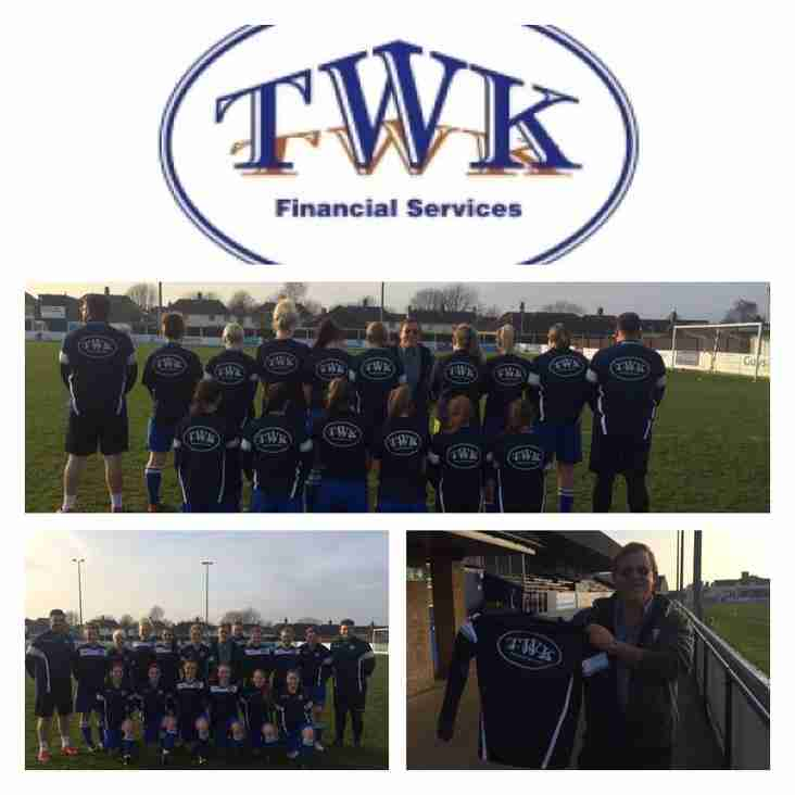 TWK Financial Services named as Official Ladies Training Kit Partner