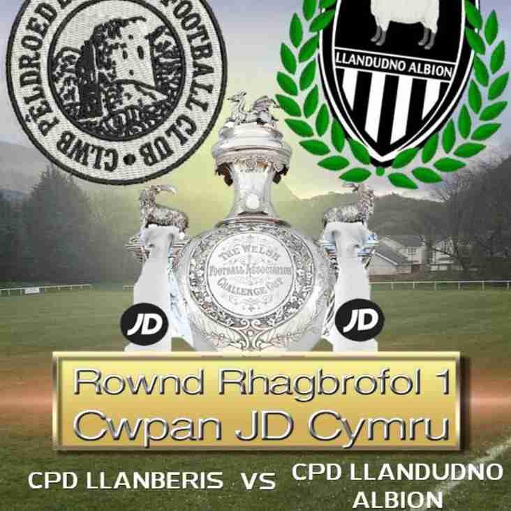 CPD Llanberis FC -v- CPD Llandudno Albion FC