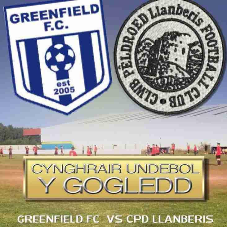 9/9/17 - Greenfield oddi cartref Cg 2.30 yh