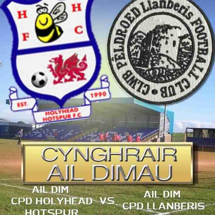 Holyhead Hotspur -v- Ail Dim CPD Llanberis