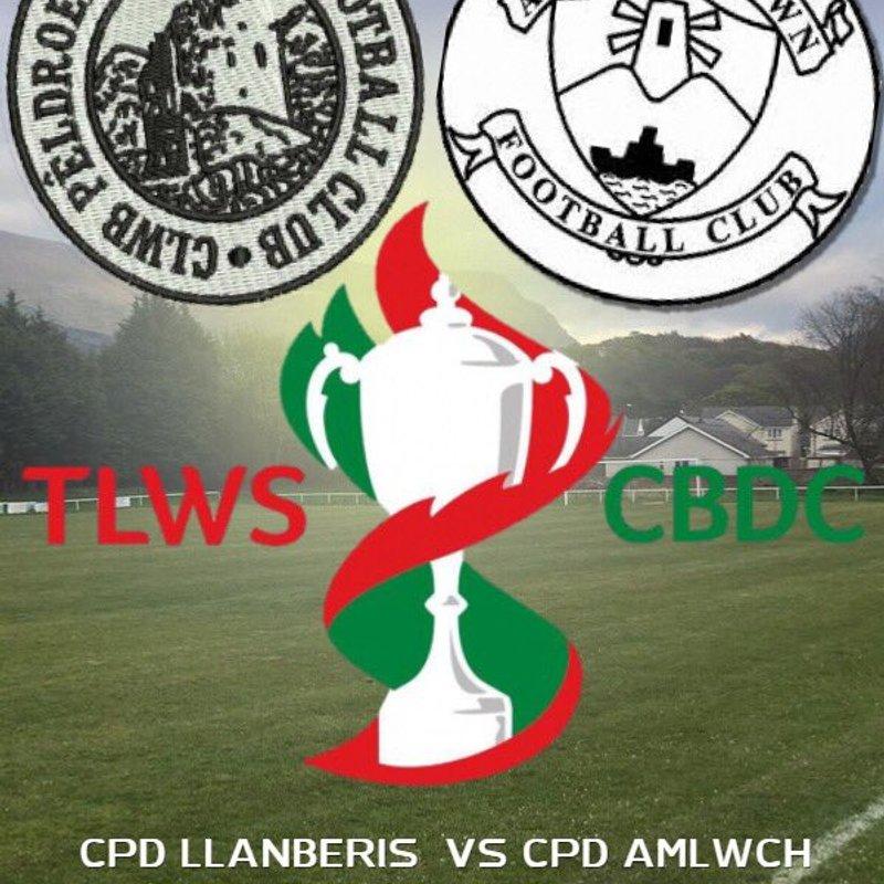 CPD Llanberis -v- Amlwch Town FC - Tlws CBDC - Ail Rownd/FAW Trophy - 2nd round