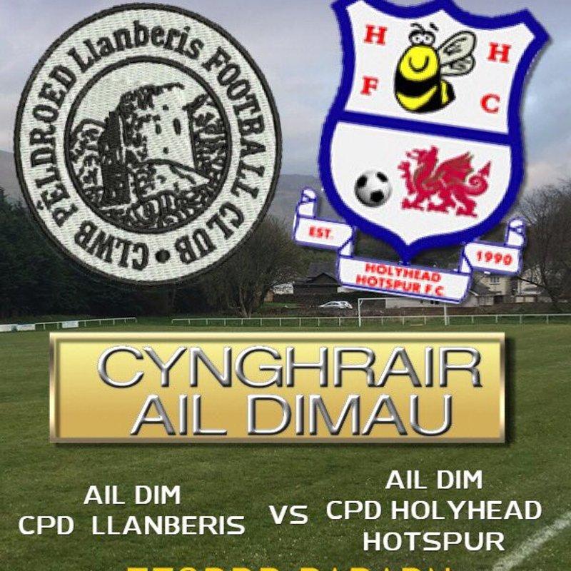 Ail-dim CPD Llanberis v Ail Dim CPD Holyhead Hotspur