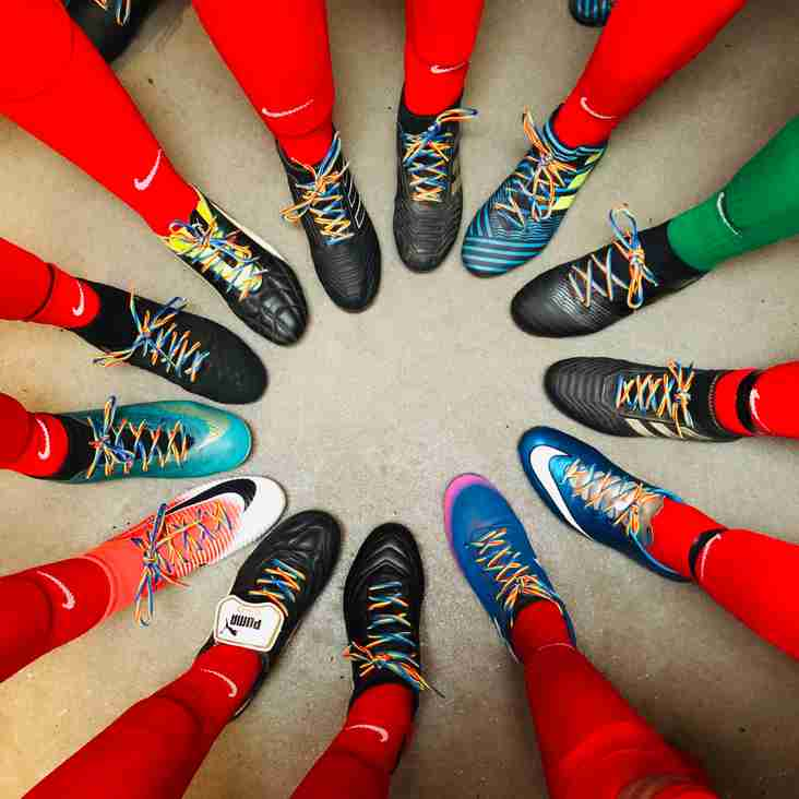 Steelwomen Support Rainbow Laces Campaign