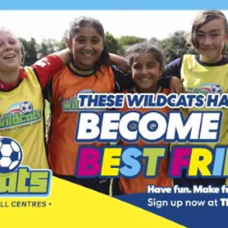 Corby Town Ladies & Girls Football Club to launch SSE Wildcats Centre