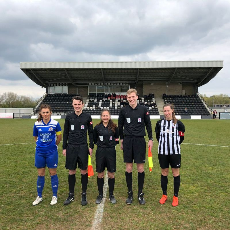 Steelwomen host Norwegian Football Federation officials at Steel Park