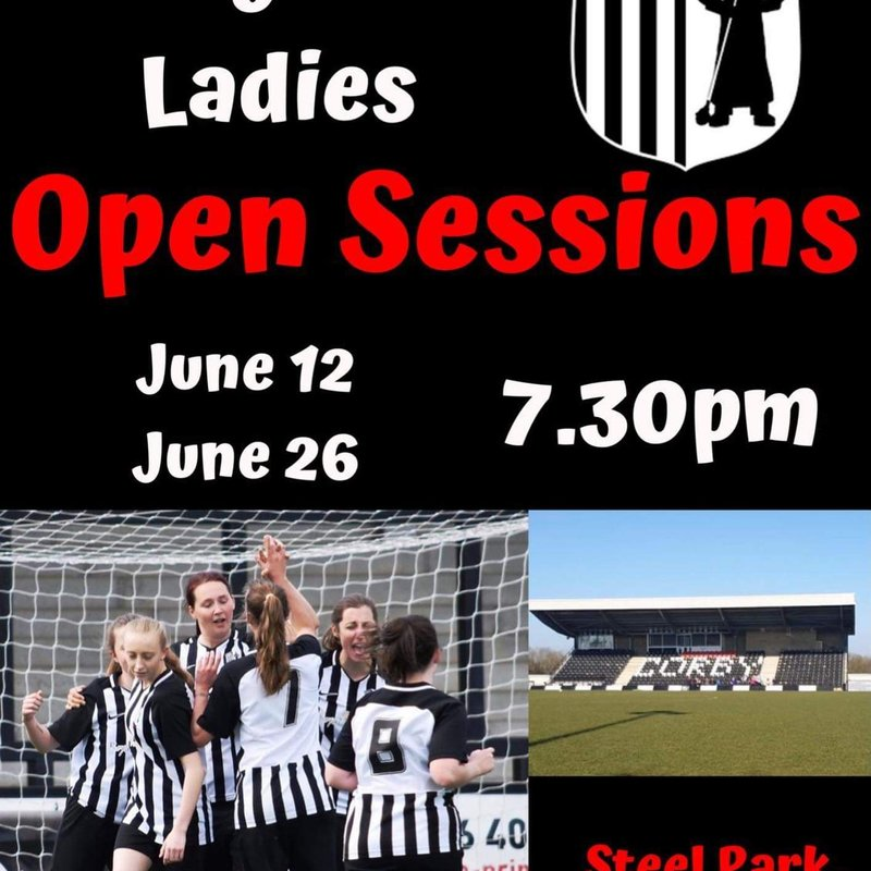 Corby Town Ladies Open Sessions